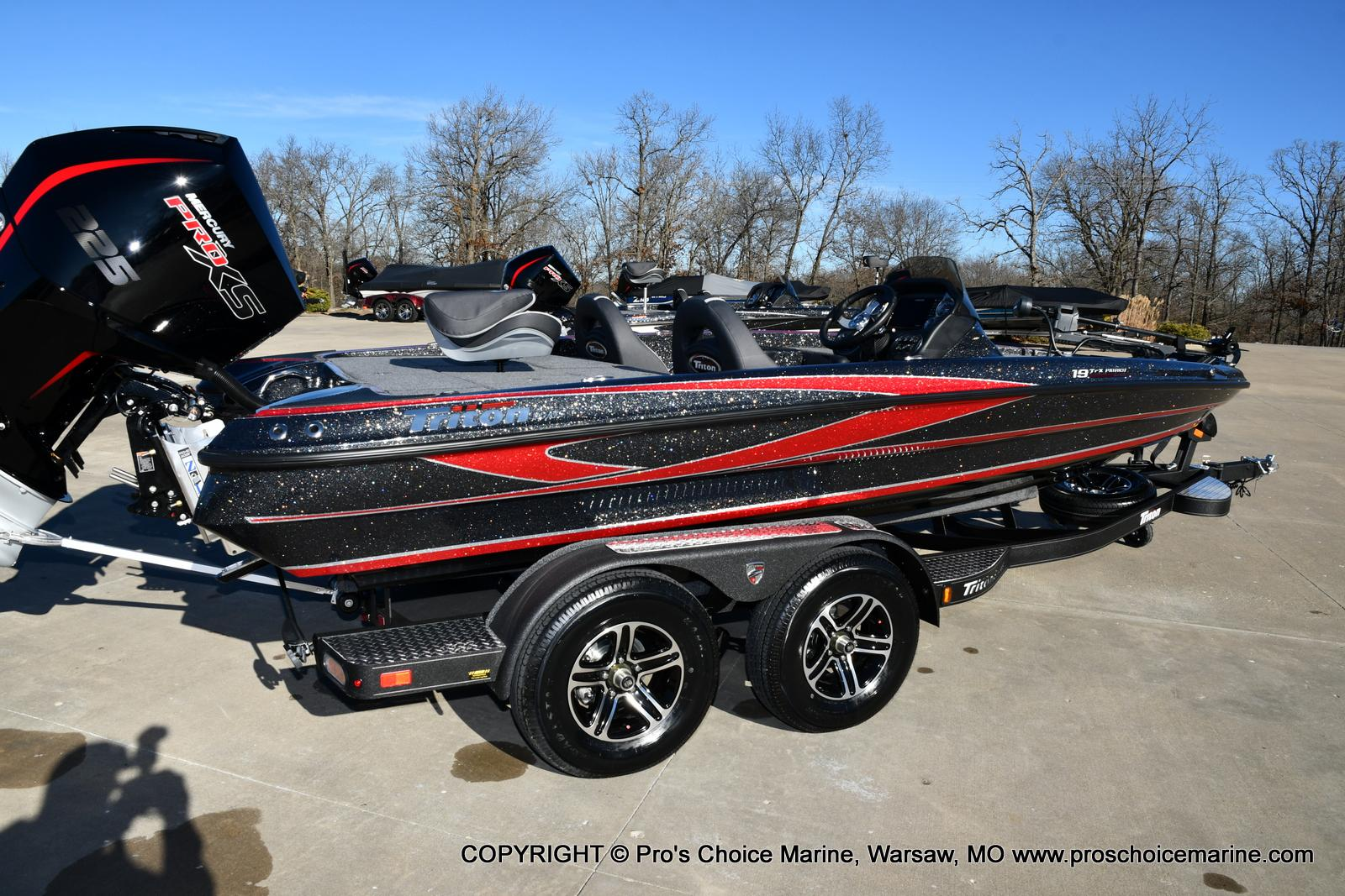 2021 Triton boat for sale, model of the boat is 19 TRX PATRIOT w/225HP PRO-XS & Image # 40 of 50