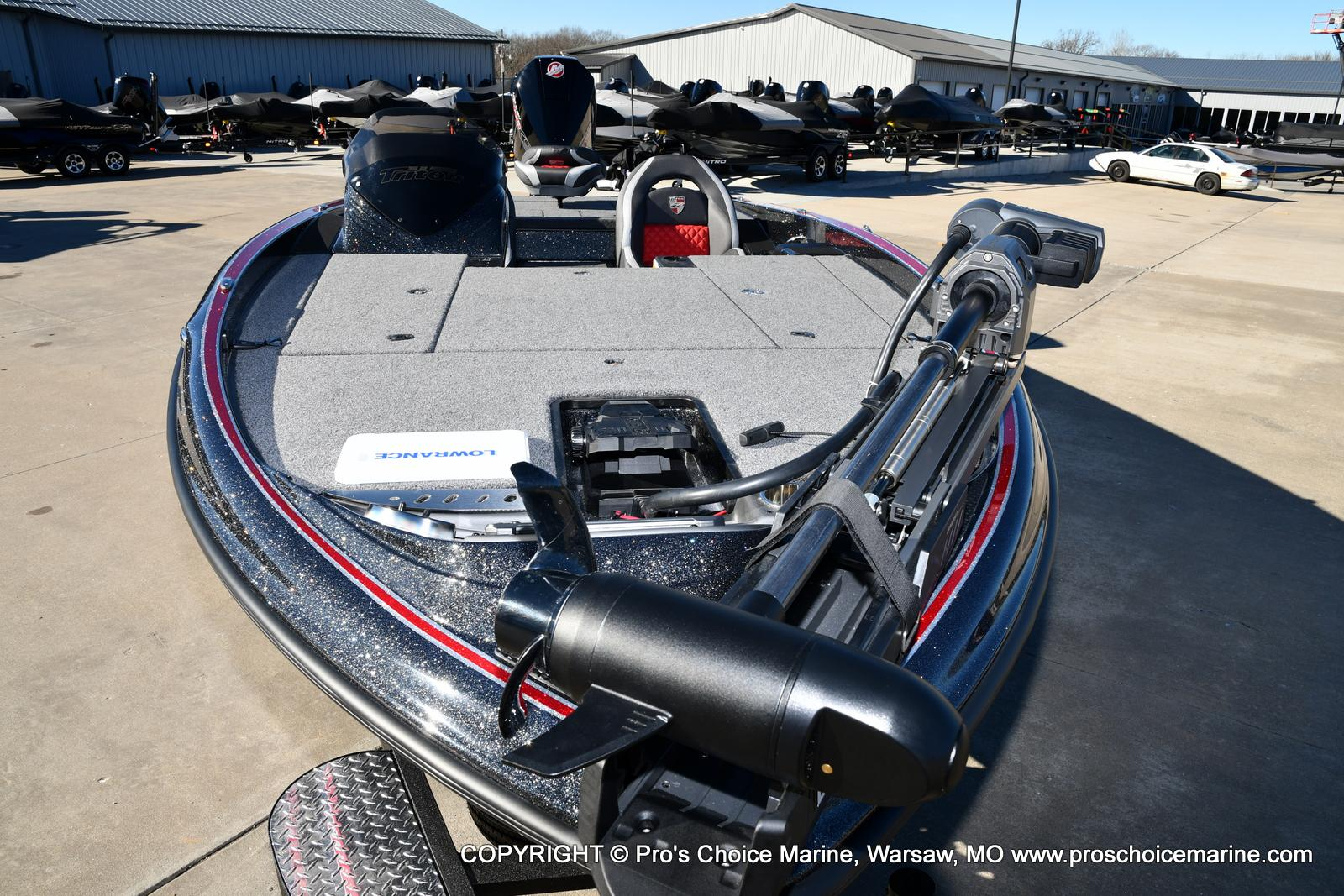 2021 Triton boat for sale, model of the boat is 19 TRX PATRIOT w/225HP PRO-XS & Image # 45 of 50