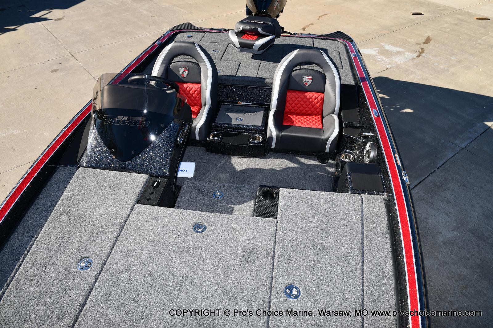 2021 Triton boat for sale, model of the boat is 19 TRX PATRIOT w/225HP PRO-XS & Image # 50 of 50