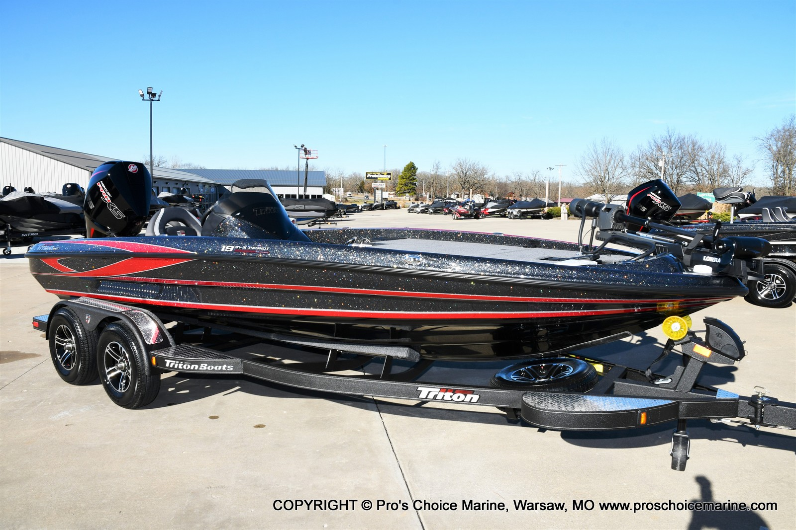 2021 Triton boat for sale, model of the boat is 19 TRX PATRIOT w/225HP PRO-XS & Image # 10 of 50
