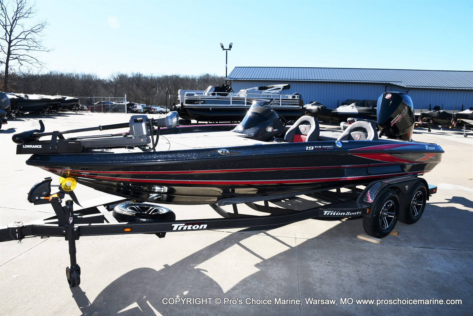 2021 Triton boat for sale, model of the boat is 19 TRX PATRIOT w/225HP PRO-XS & Image # 12 of 50