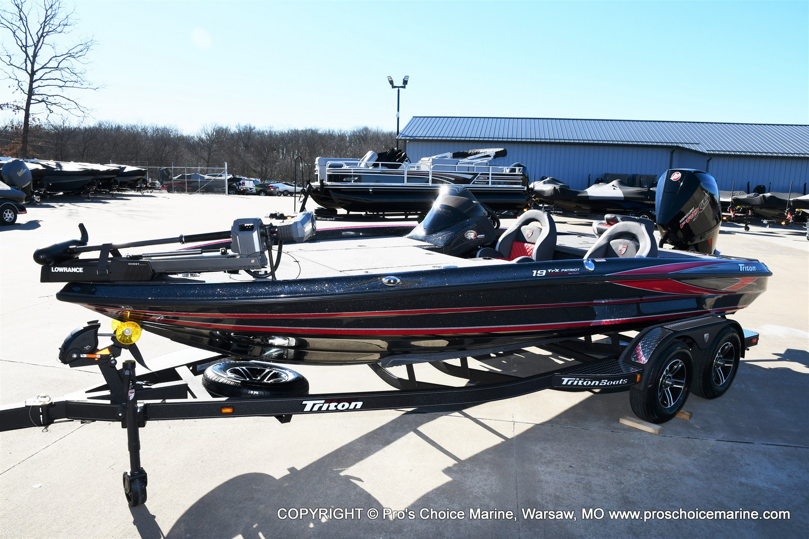 2021 Triton boat for sale, model of the boat is 19 TRX PATRIOT w/225HP PRO-XS & Image # 22 of 50