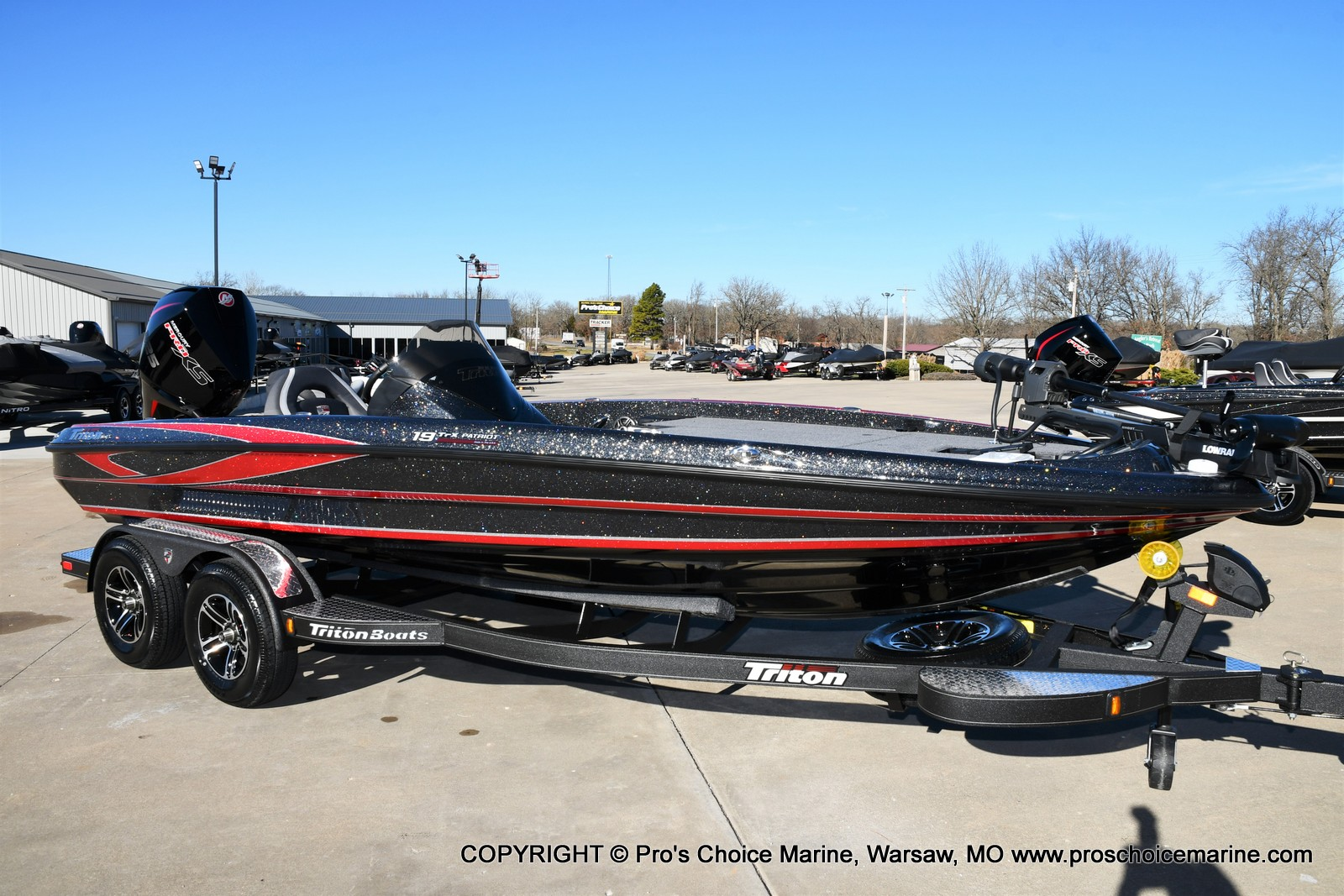 2021 Triton boat for sale, model of the boat is 19 TRX PATRIOT w/225HP PRO-XS & Image # 38 of 50