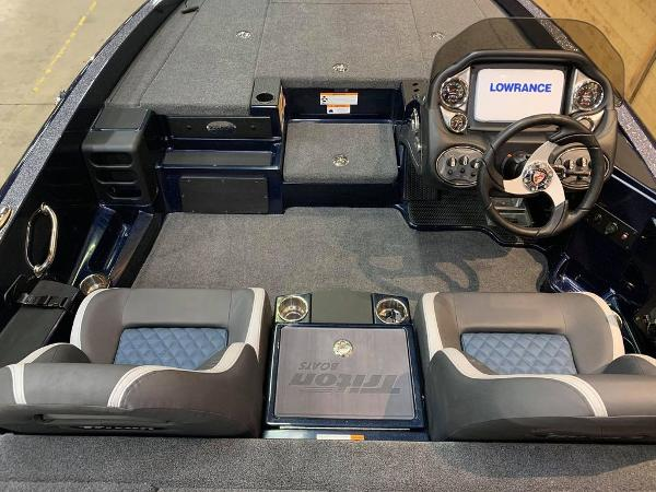 2021 Triton boat for sale, model of the boat is 189 TRX & Image # 6 of 17