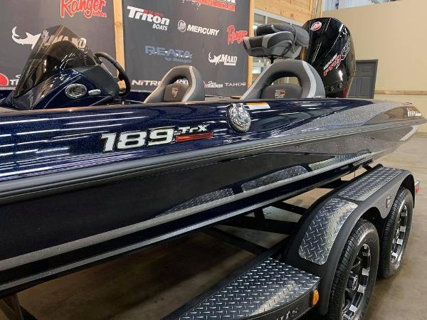 2021 Triton boat for sale, model of the boat is 189 TRX & Image # 12 of 17