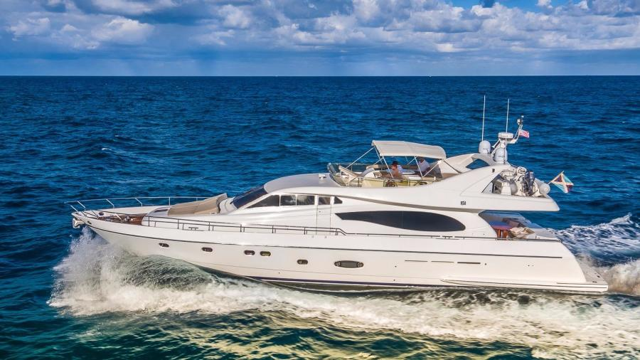 Picture Of:  74' Ferretti Yachts 730 2003Yacht For Sale | 55