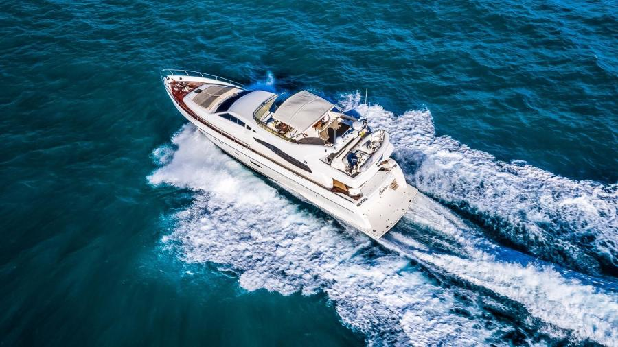 Picture Of:  74' Ferretti Yachts 730 2003Yacht For Sale | 3 of 55