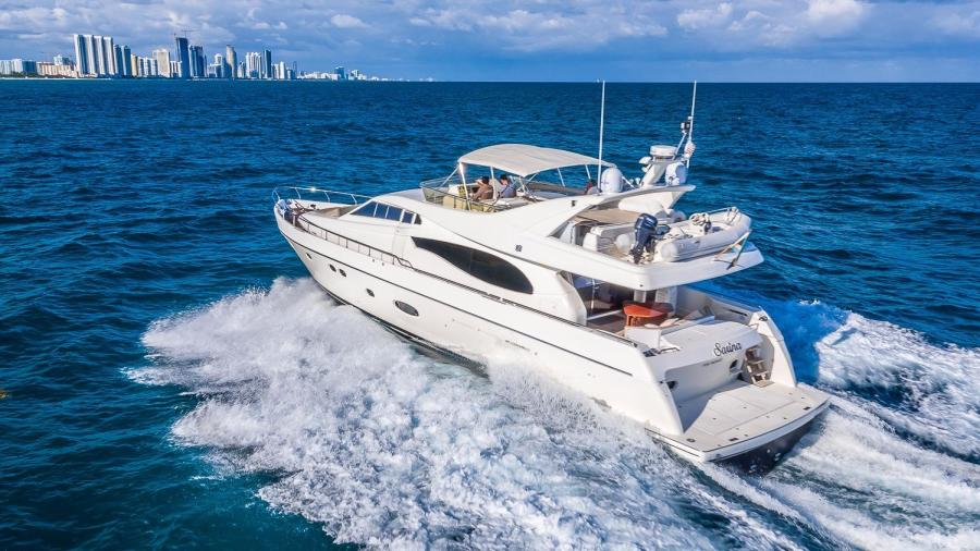 Picture Of:  74' Ferretti Yachts 730 2003Yacht For Sale | 4 of 55