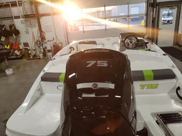 2021 Tahoe boat for sale, model of the boat is T16 & Image # 15 of 21