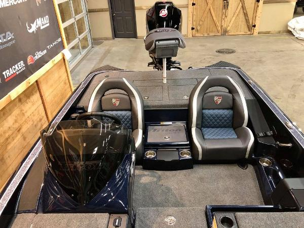 2021 Triton boat for sale, model of the boat is 189 TRX & Image # 16 of 17