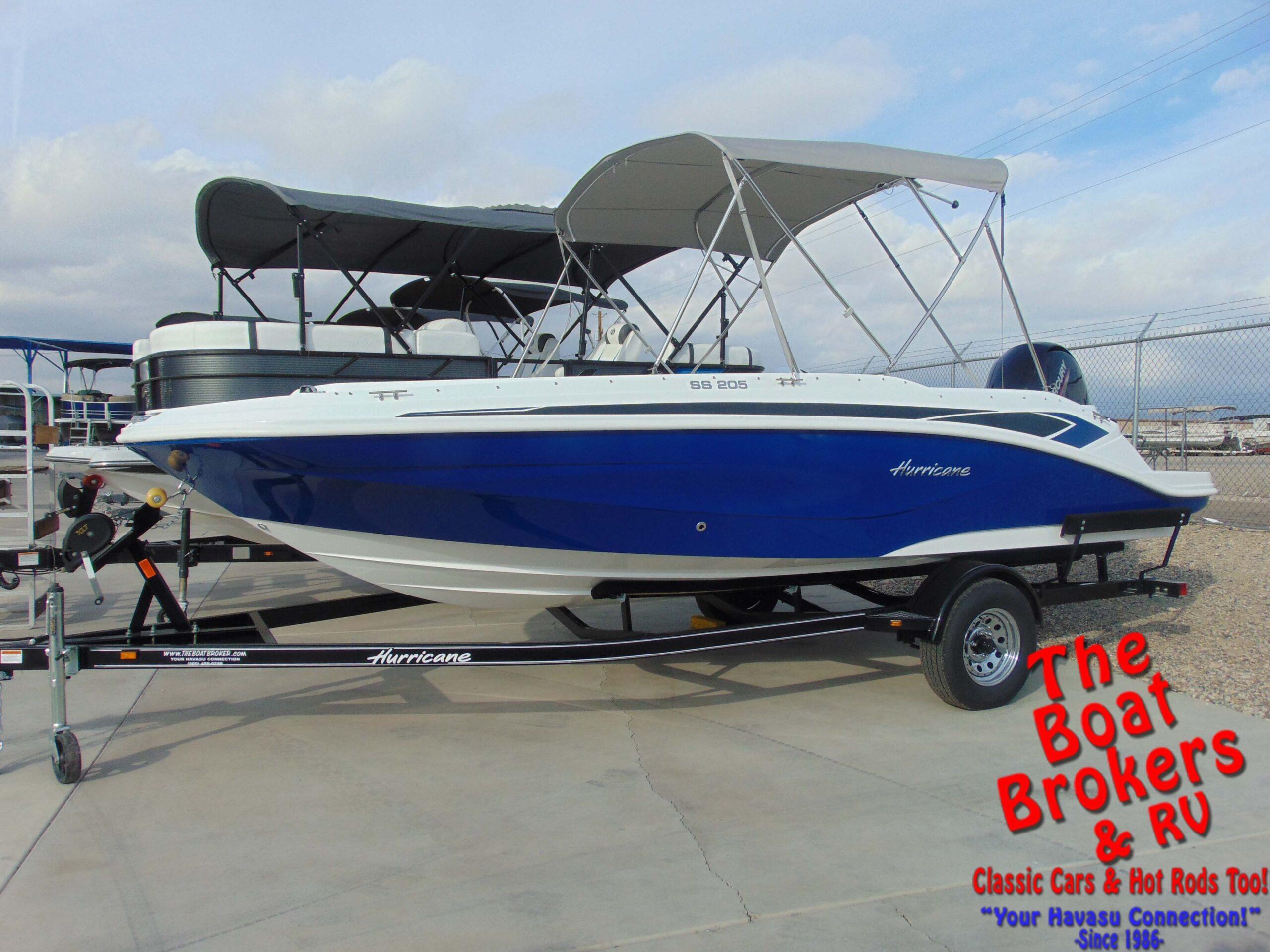 2021 Hurricane SS205-OB Deck Boat