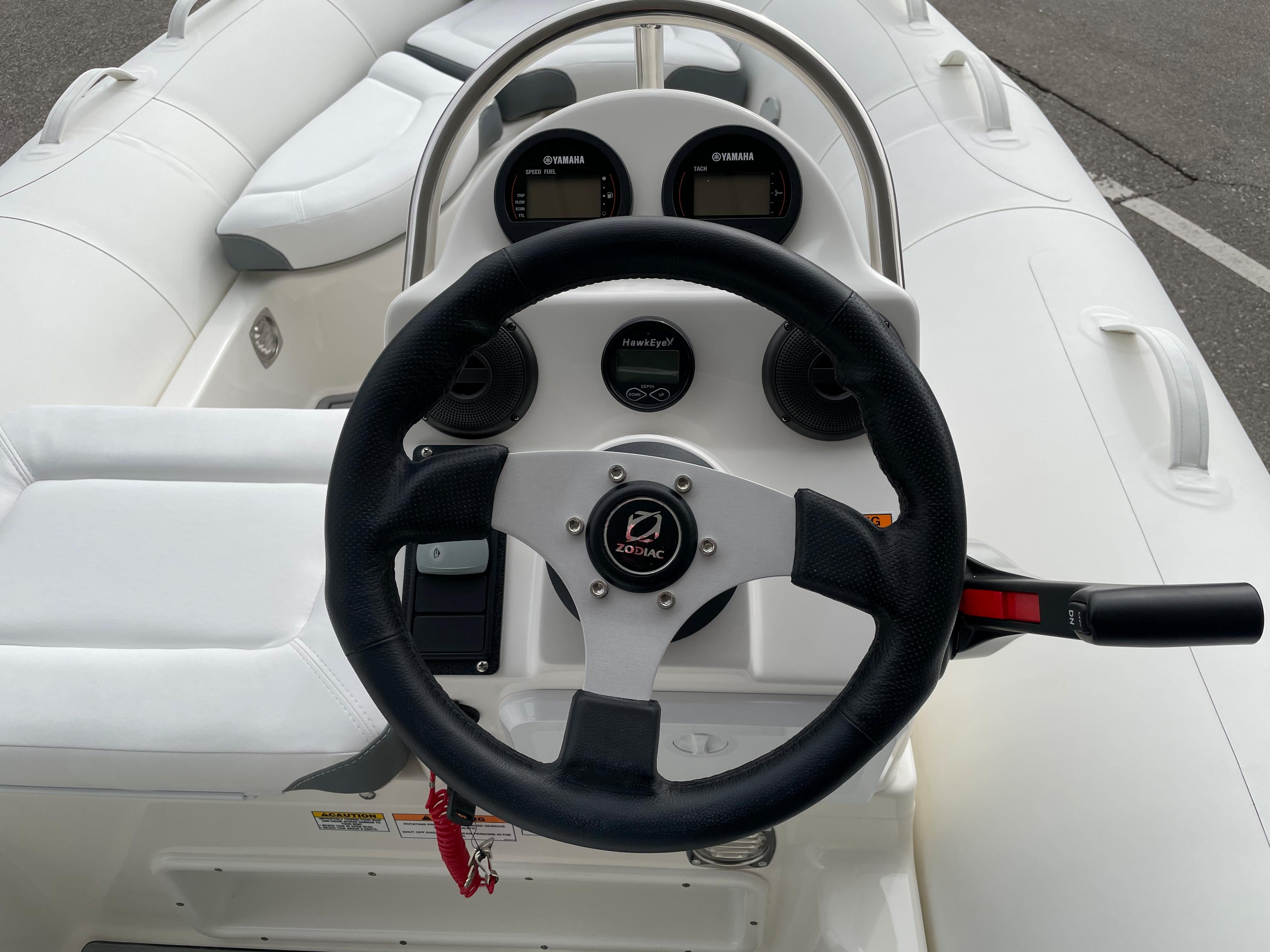 2022 Zodiac Yachtline 440 Deluxe NEO GL Edition 60hp On Order, Image 17