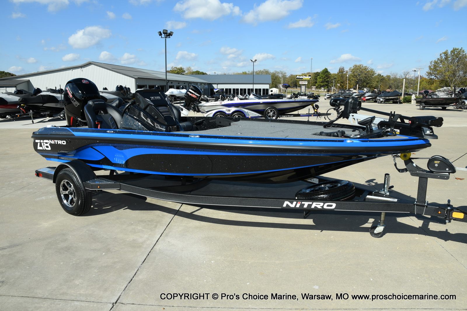 2021 Nitro boat for sale, model of the boat is Z18 Pro Package & Image # 1 of 50