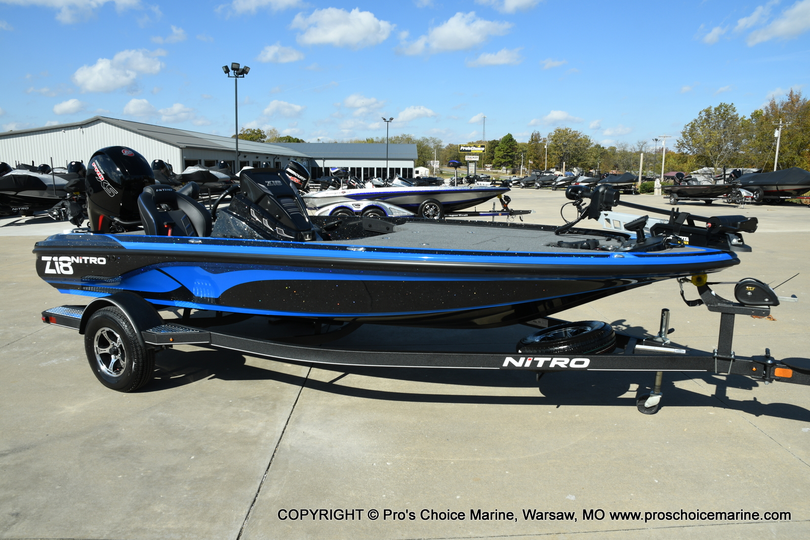 2021 Nitro boat for sale, model of the boat is Z18 Pro Package & Image # 13 of 50