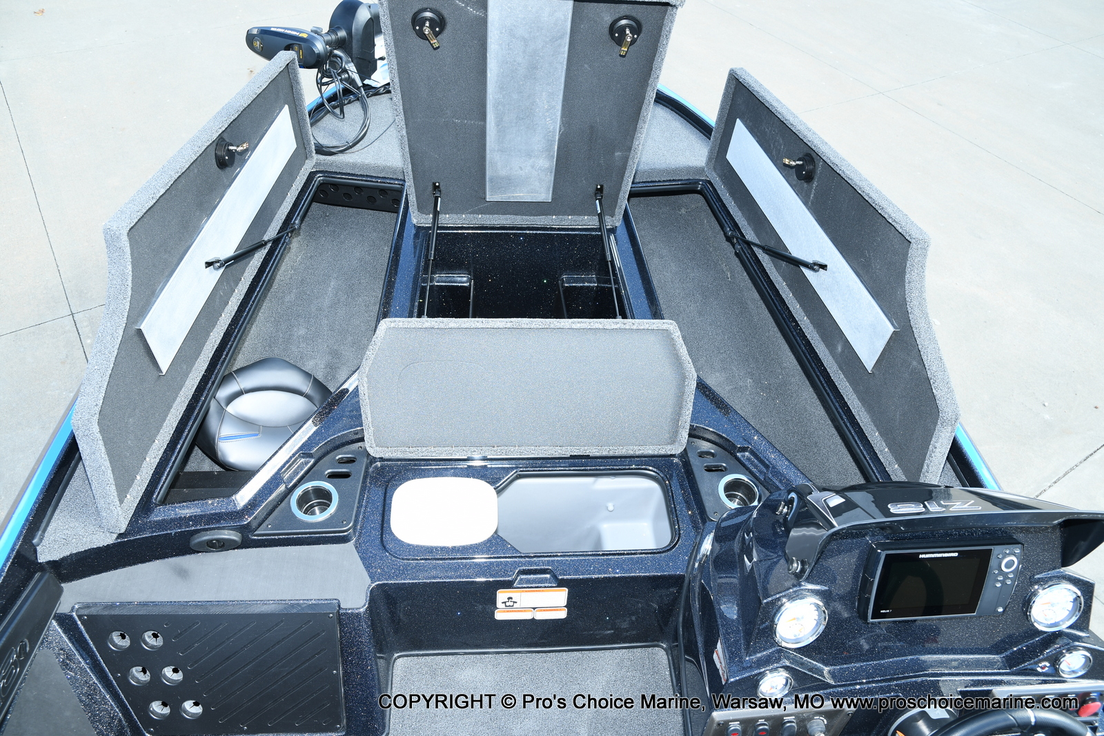 2021 Nitro boat for sale, model of the boat is Z18 Pro Package & Image # 20 of 50
