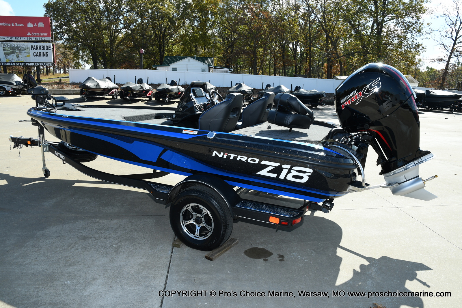 2021 Nitro boat for sale, model of the boat is Z18 Pro Package & Image # 26 of 50