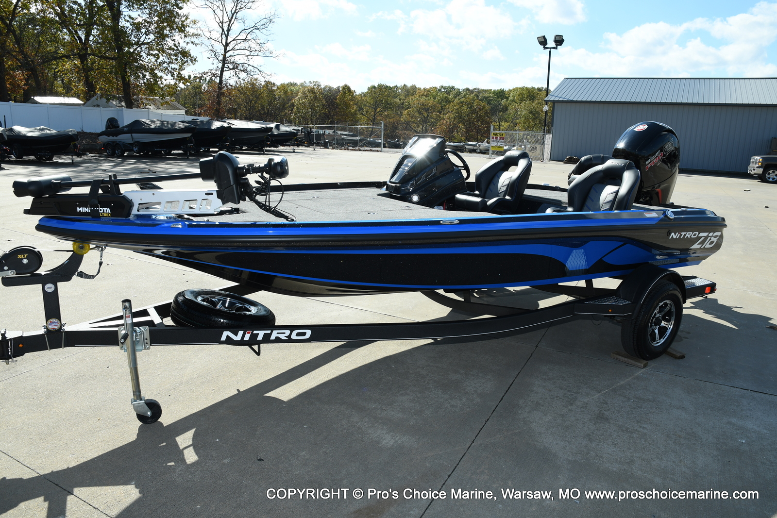 2021 Nitro boat for sale, model of the boat is Z18 Pro Package & Image # 27 of 50