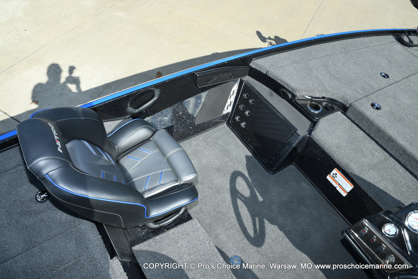 2021 Nitro boat for sale, model of the boat is Z18 Pro Package & Image # 30 of 50