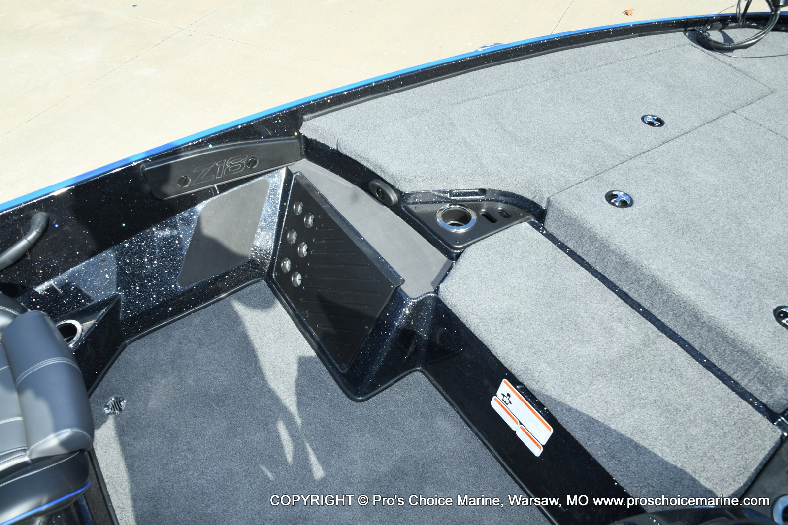 2021 Nitro boat for sale, model of the boat is Z18 Pro Package & Image # 32 of 50