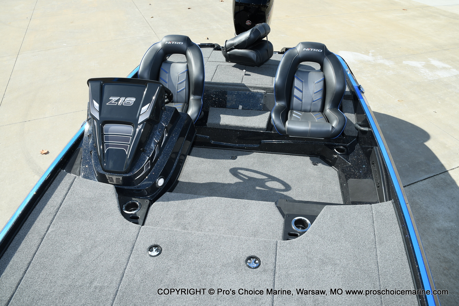 2021 Nitro boat for sale, model of the boat is Z18 Pro Package & Image # 34 of 50