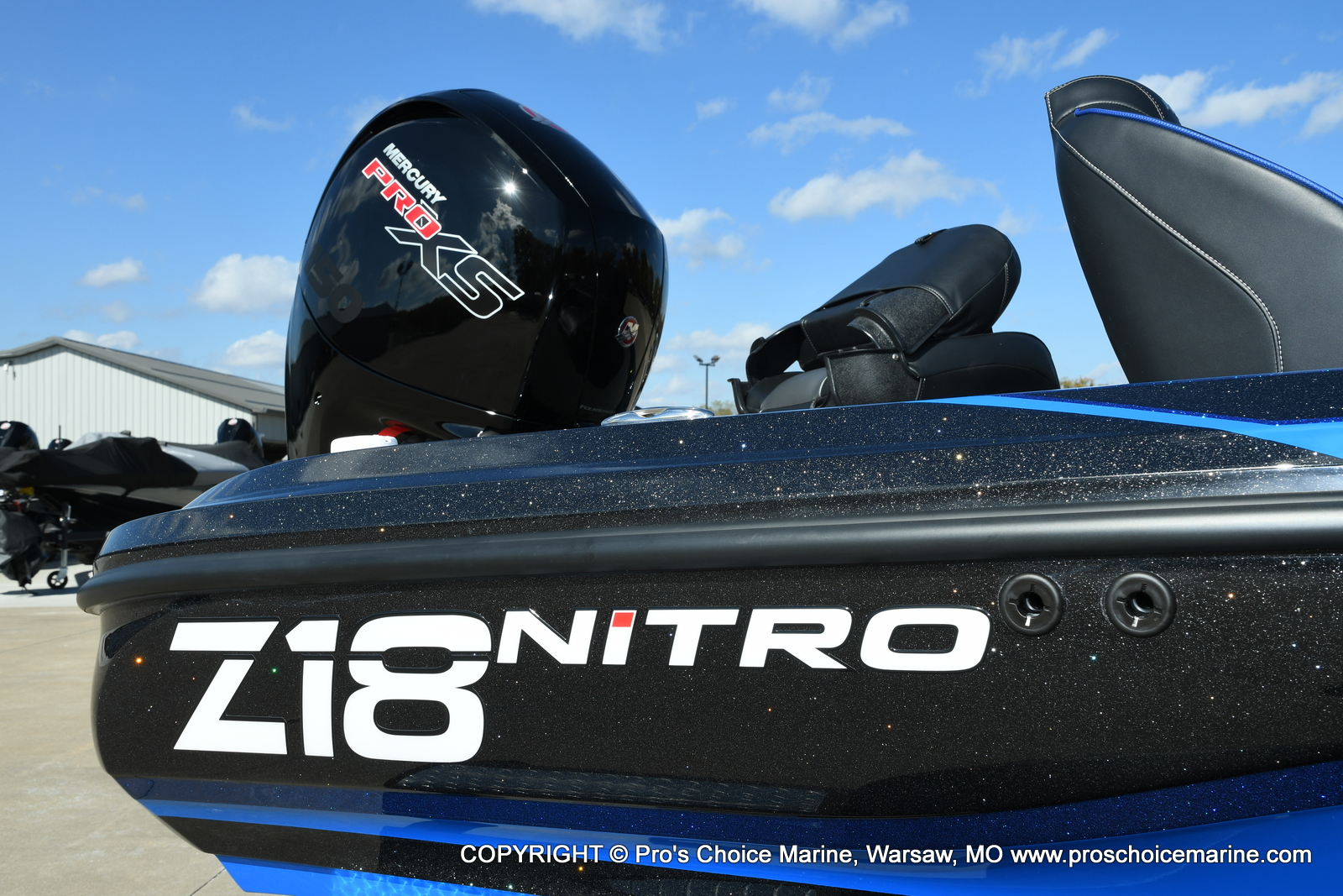 2021 Nitro boat for sale, model of the boat is Z18 Pro Package & Image # 35 of 50