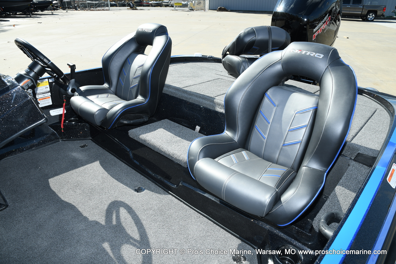 2021 Nitro boat for sale, model of the boat is Z18 Pro Package & Image # 38 of 50