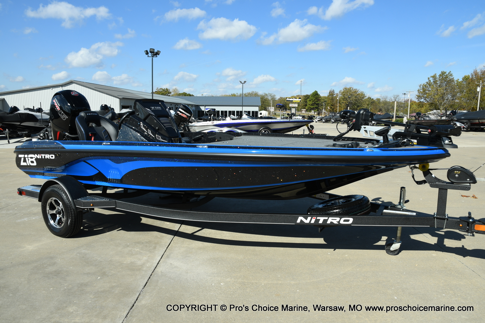 2021 Nitro boat for sale, model of the boat is Z18 Pro Package & Image # 43 of 50