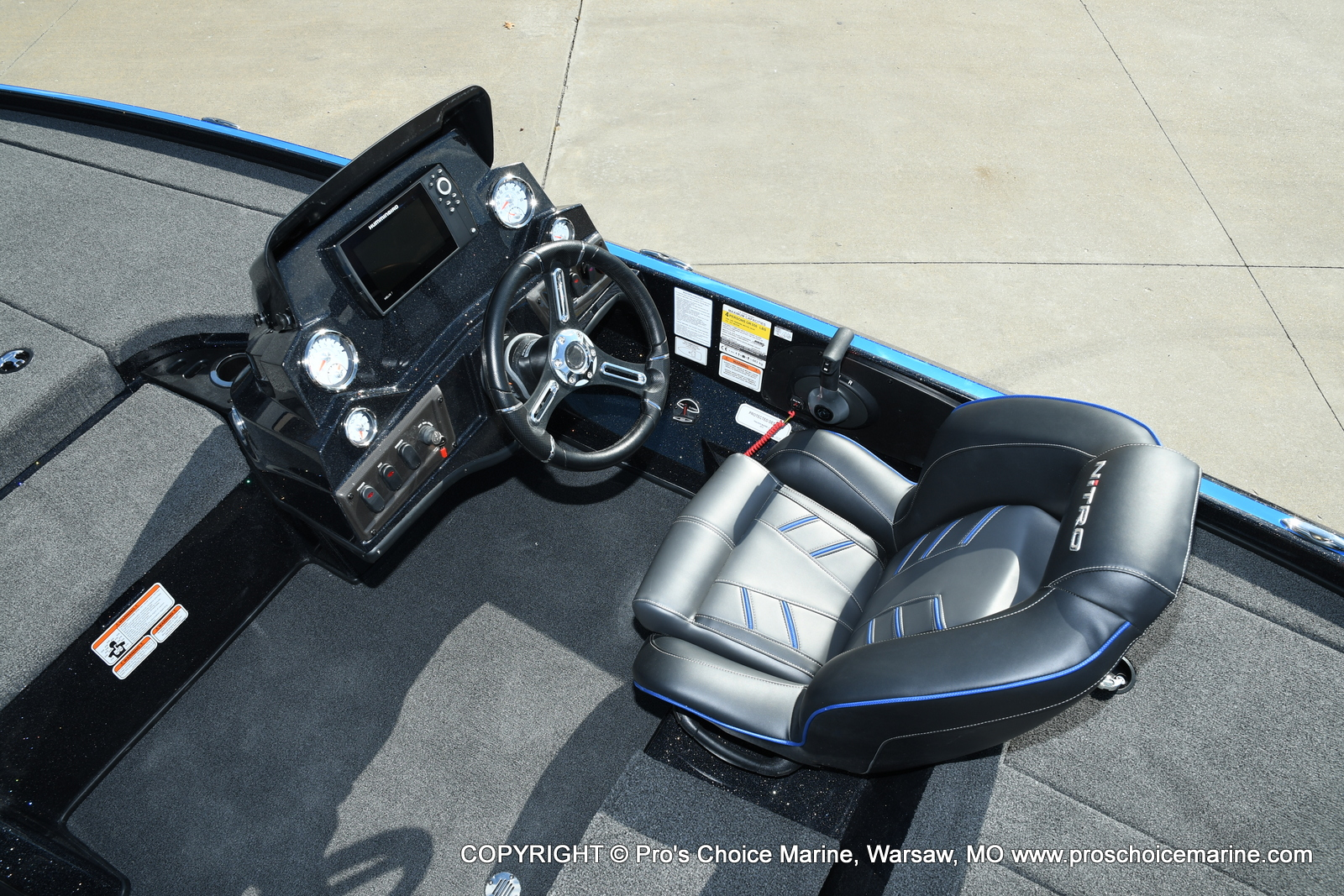2021 Nitro boat for sale, model of the boat is Z18 Pro Package & Image # 47 of 50