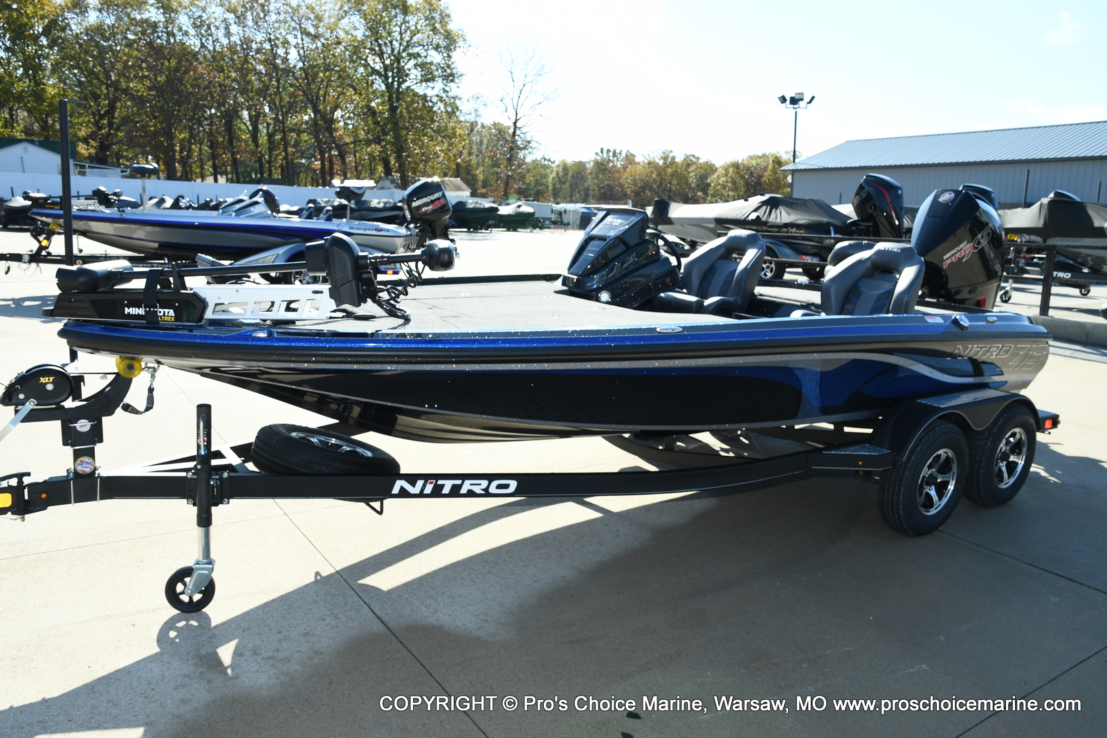 2021 Nitro boat for sale, model of the boat is Z19 pro package & Image # 37 of 50