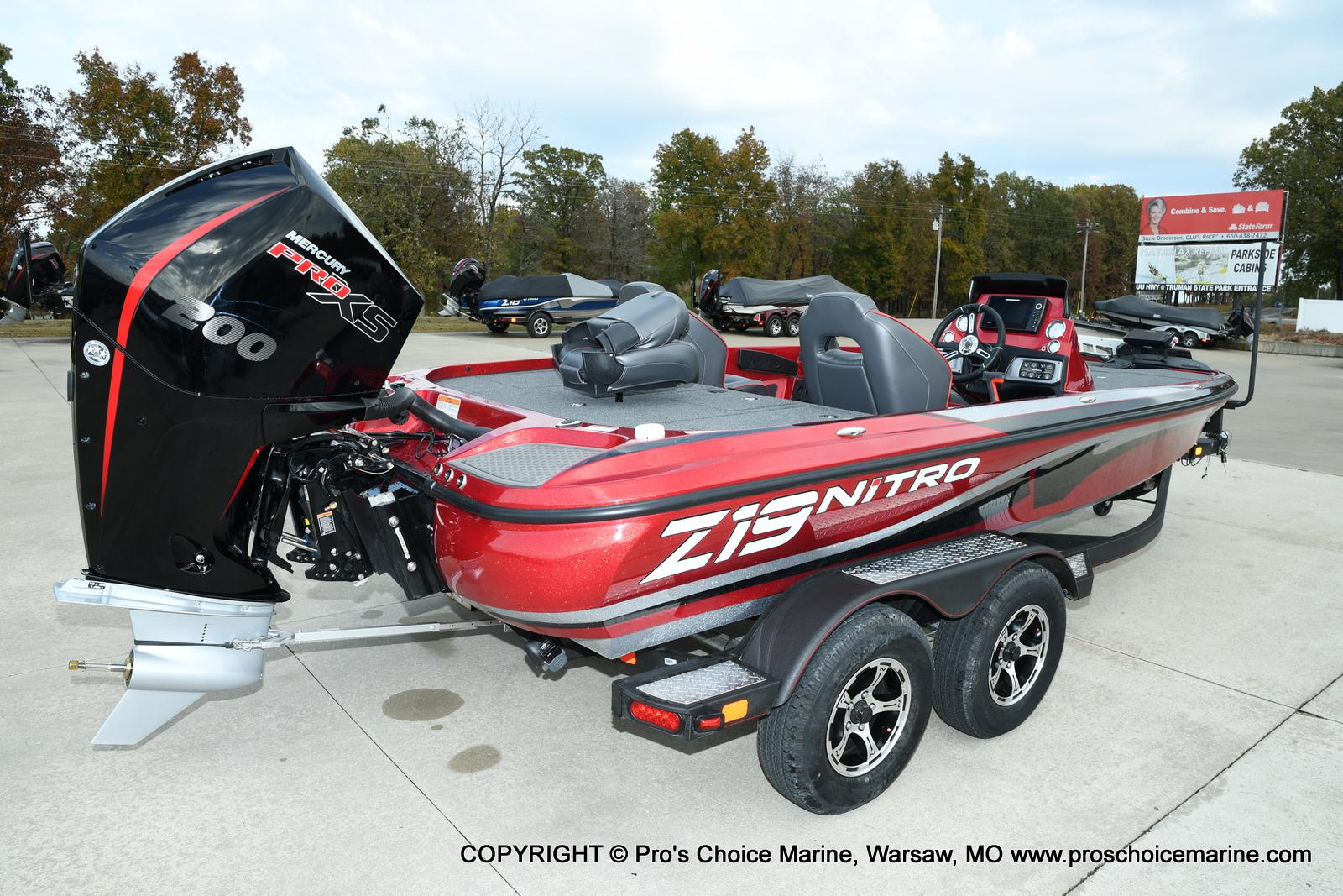 2021 Nitro boat for sale, model of the boat is Z19 pro package & Image # 10 of 50