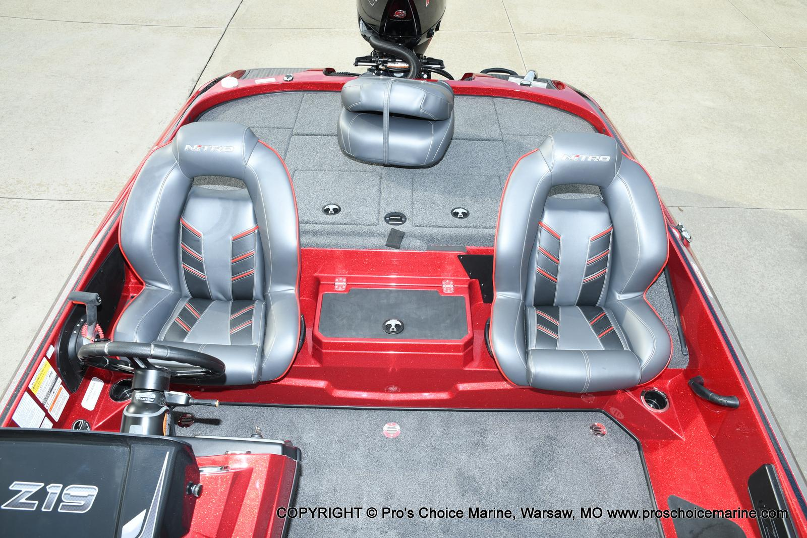 2021 Nitro boat for sale, model of the boat is Z19 pro package & Image # 19 of 50