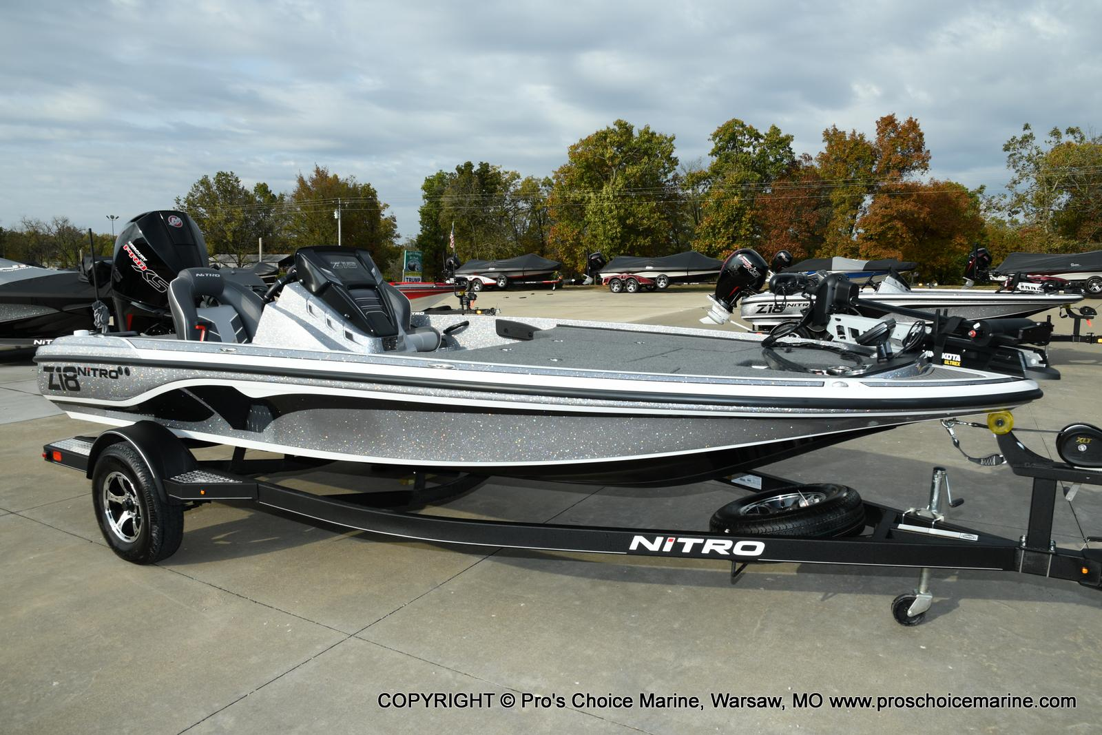 2021 Nitro boat for sale, model of the boat is Z18 Pro Pack w/175HP Pro-XS & Image # 10 of 50