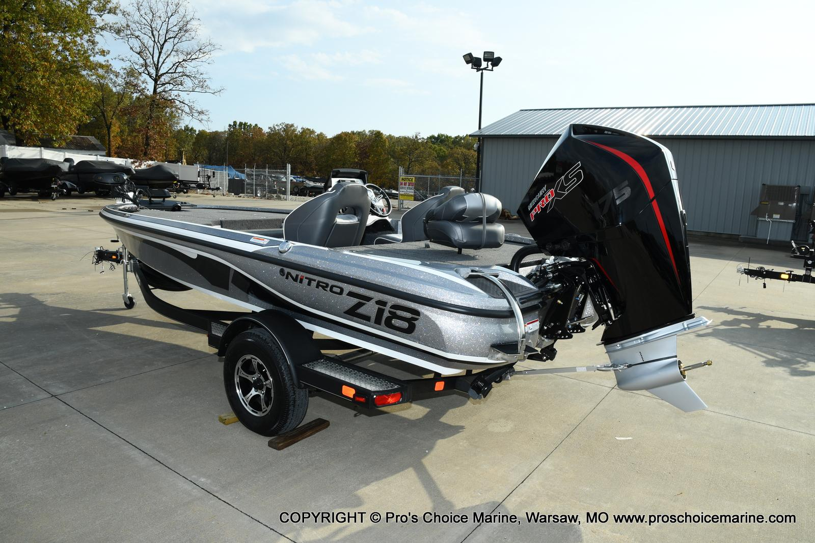 2021 Nitro boat for sale, model of the boat is Z18 Pro Pack w/175HP Pro-XS & Image # 2 of 50