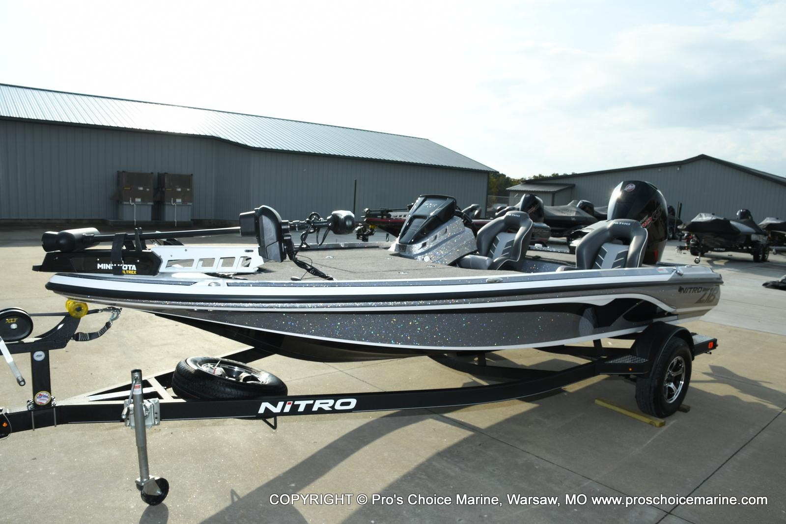 2021 Nitro boat for sale, model of the boat is Z18 Pro Pack w/175HP Pro-XS & Image # 22 of 50