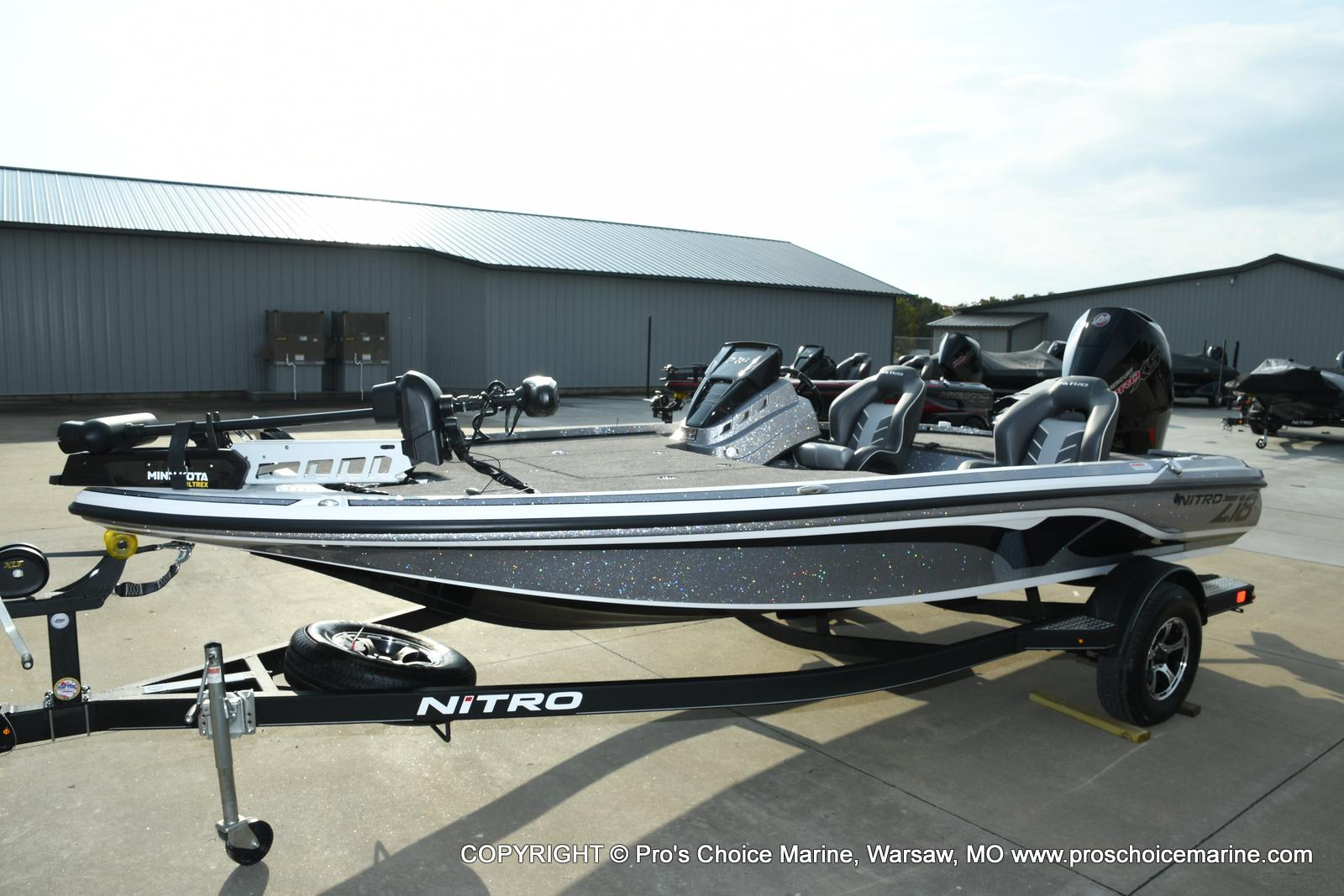 2021 Nitro boat for sale, model of the boat is Z18 Pro Pack w/175HP Pro-XS & Image # 23 of 50