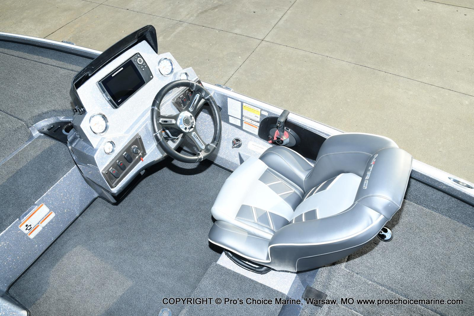 2021 Nitro boat for sale, model of the boat is Z18 Pro Pack w/175HP Pro-XS & Image # 30 of 50