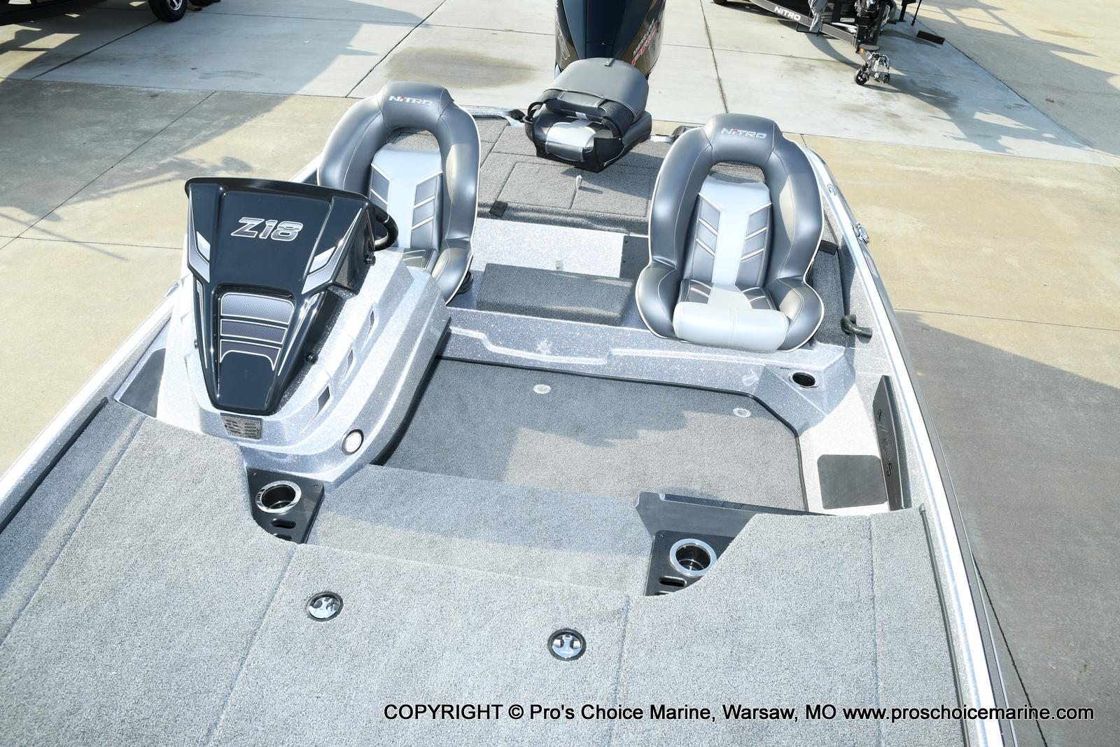 2021 Nitro boat for sale, model of the boat is Z18 Pro Pack w/175HP Pro-XS & Image # 33 of 50