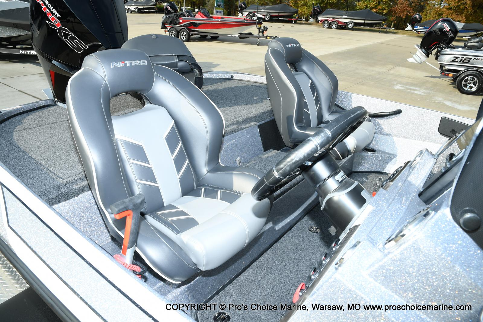 2021 Nitro boat for sale, model of the boat is Z18 Pro Pack w/175HP Pro-XS & Image # 44 of 50