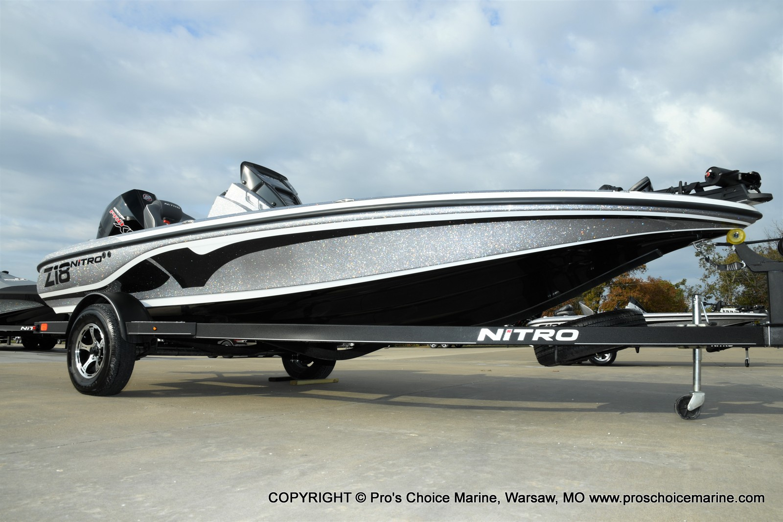 2021 Nitro boat for sale, model of the boat is Z18 Pro Pack w/175HP Pro-XS & Image # 41 of 50