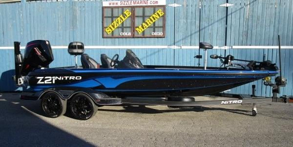 2021 Nitro boat for sale, model of the boat is Z21 Pro & Image # 1 of 19