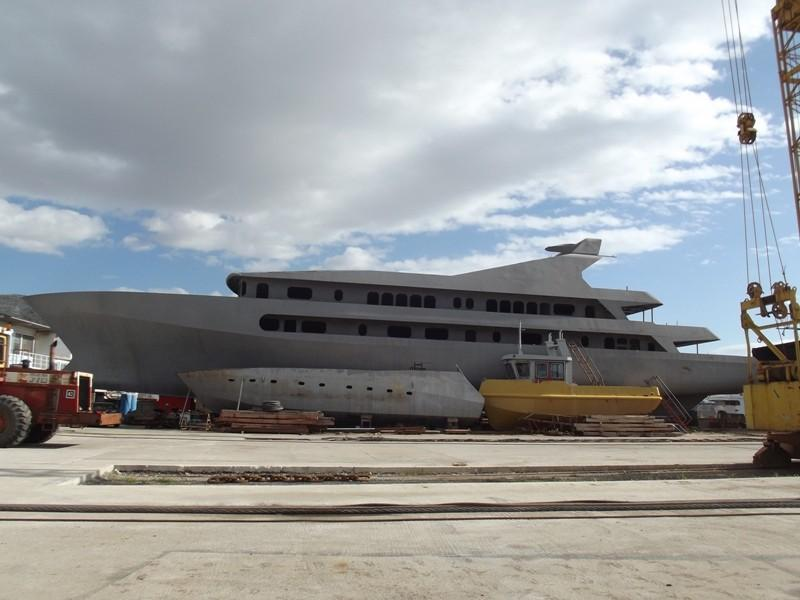 PERAMA Uncompleted Yacht Project