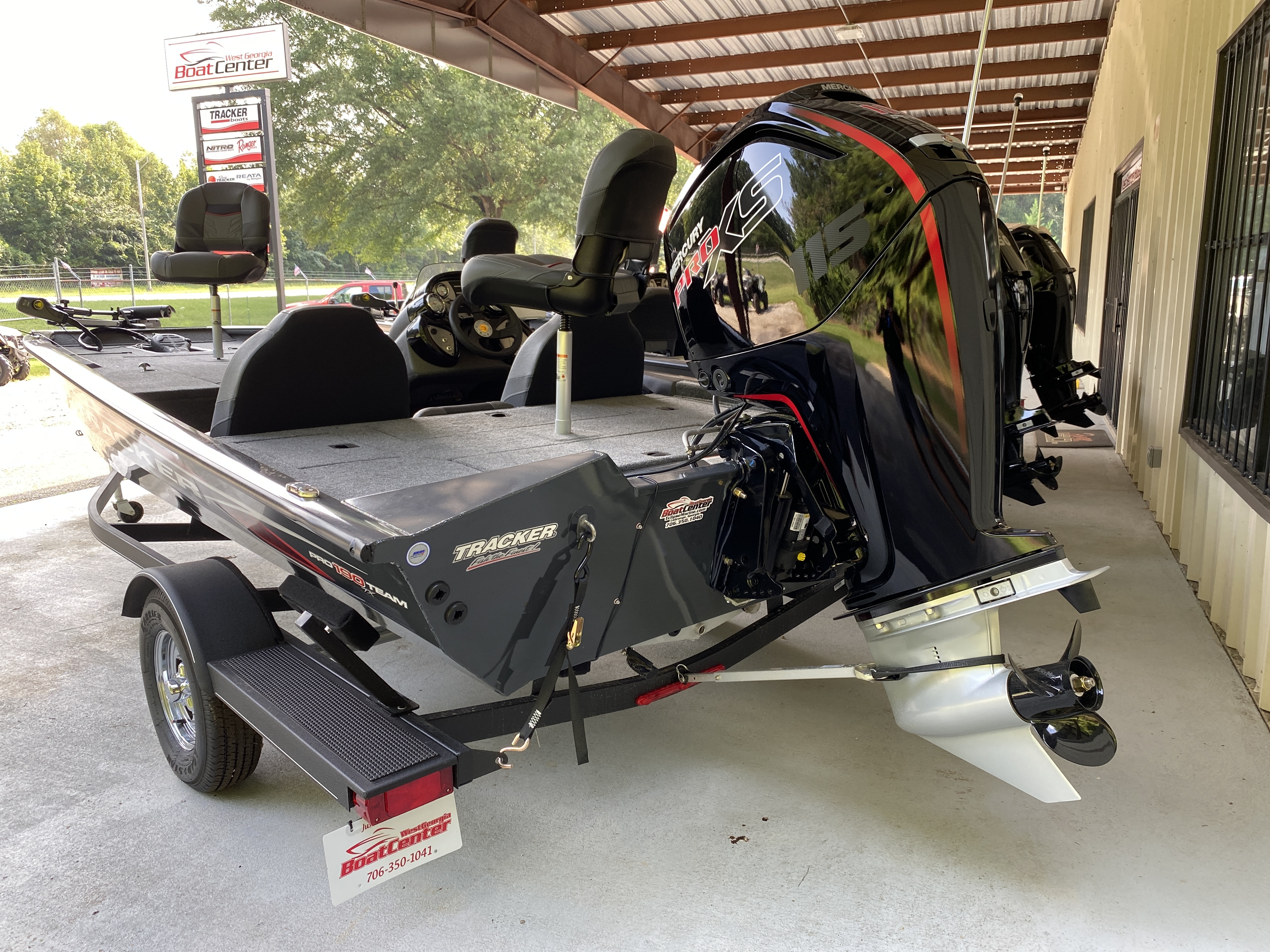 2021 Tracker Boats boat for sale, model of the boat is Pro Team 190 w/ 115 ELPT PXS4 STD & Image # 3 of 12