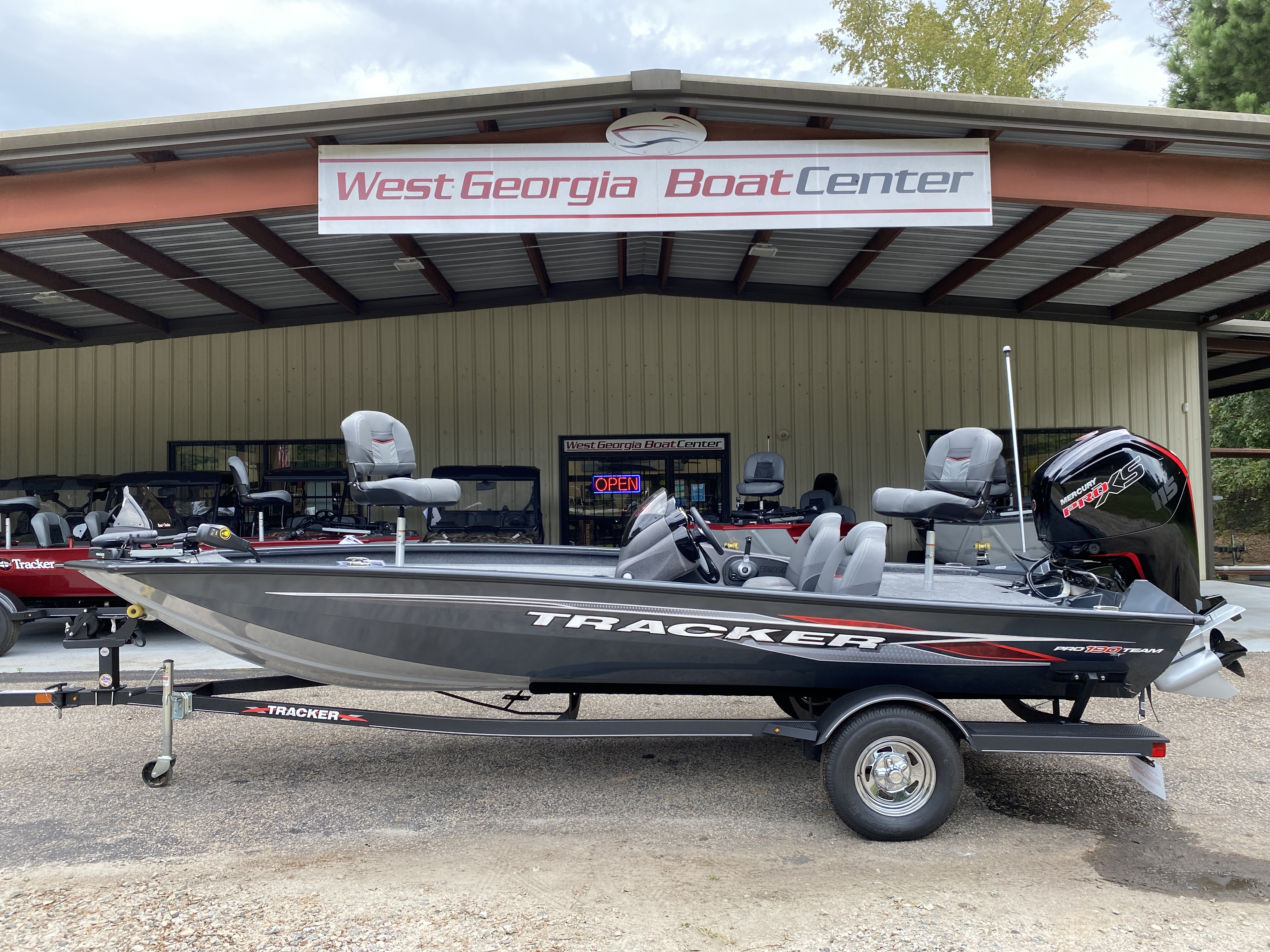 2021 Tracker Boats boat for sale, model of the boat is Pro Team 190 w/ 115 ELPT PXS4 STD & Image # 1 of 12