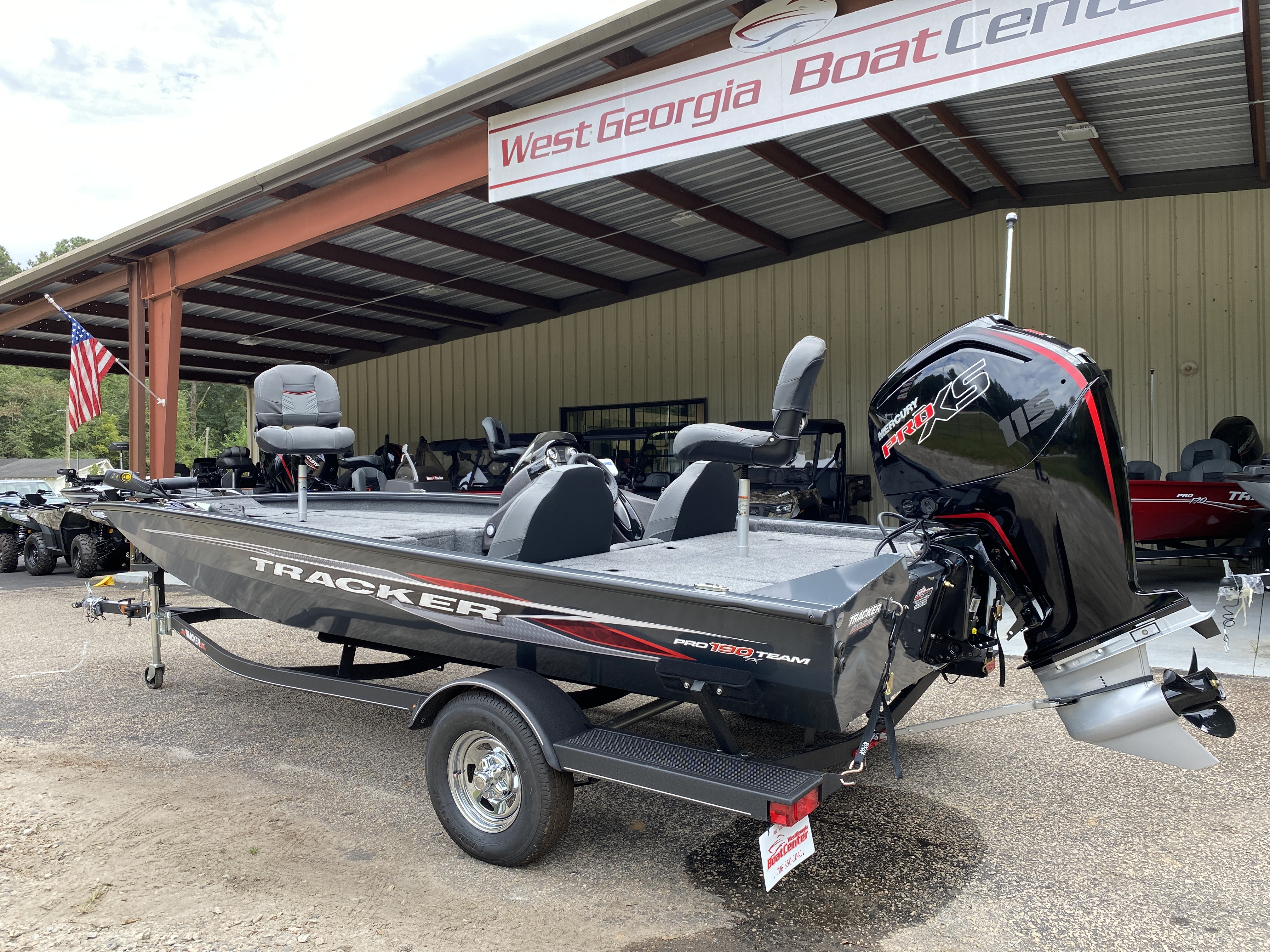 2021 Tracker Boats boat for sale, model of the boat is Pro Team 190 w/ 115 ELPT PXS4 STD & Image # 7 of 12