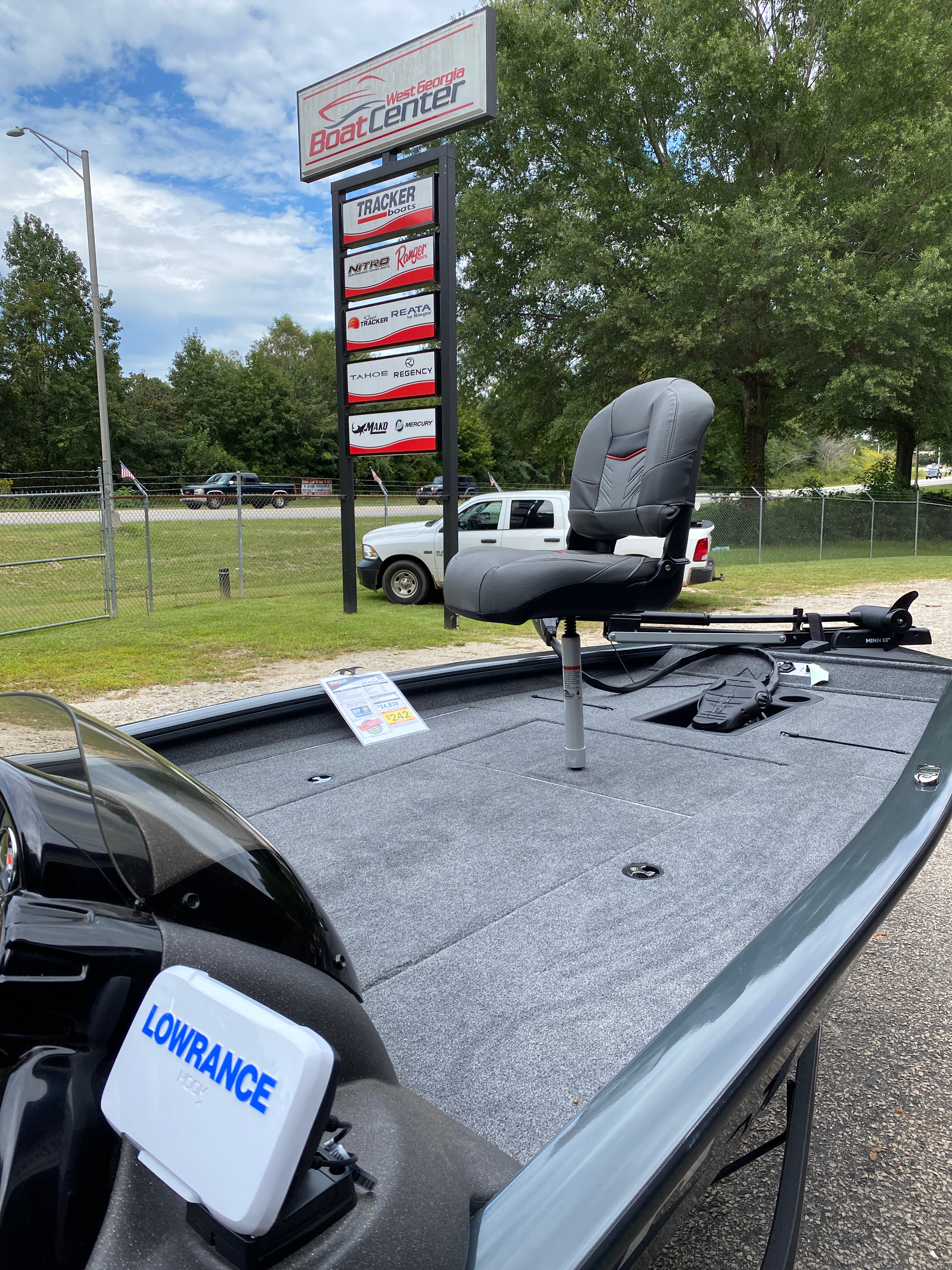 2021 Tracker Boats boat for sale, model of the boat is Pro Team 190 w/ 115 ELPT PXS4 STD & Image # 8 of 12