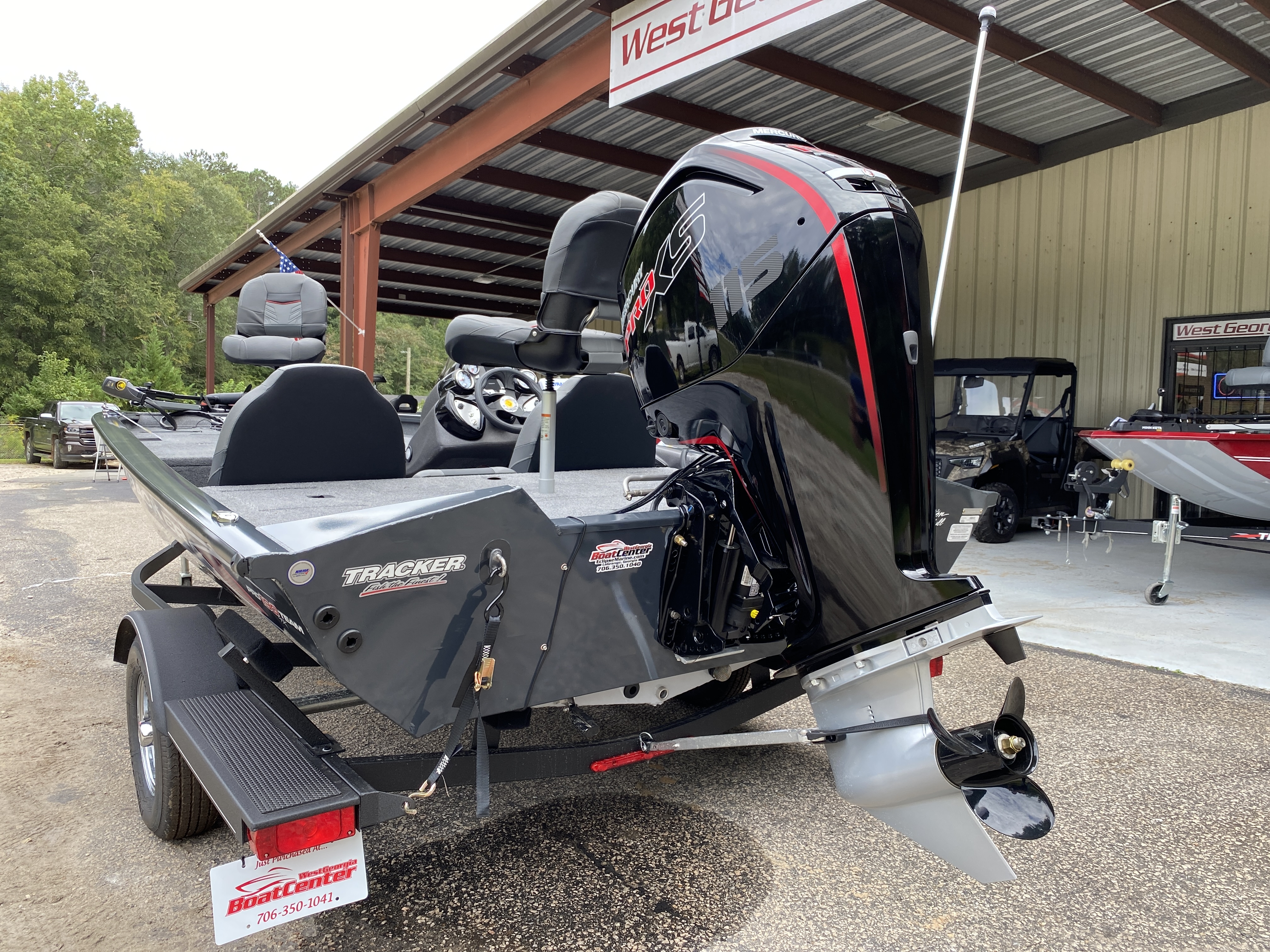 2021 Tracker Boats boat for sale, model of the boat is Pro Team 190 w/ 115 ELPT PXS4 STD & Image # 11 of 12