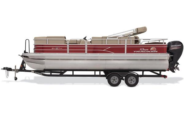 2018 Sun Tracker boat for sale, model of the boat is SportFish 22 DLX & Image # 4 of 8