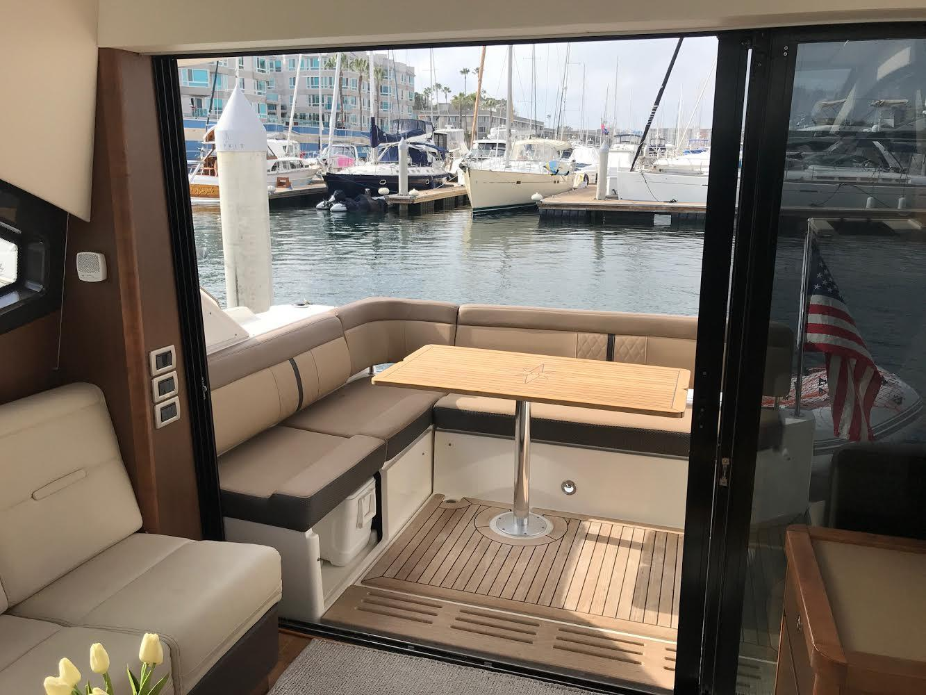 2016 Sea Ray 400 Sundancer #TB8690BB inventory image at Sun Country Coastal in Newport Beach
