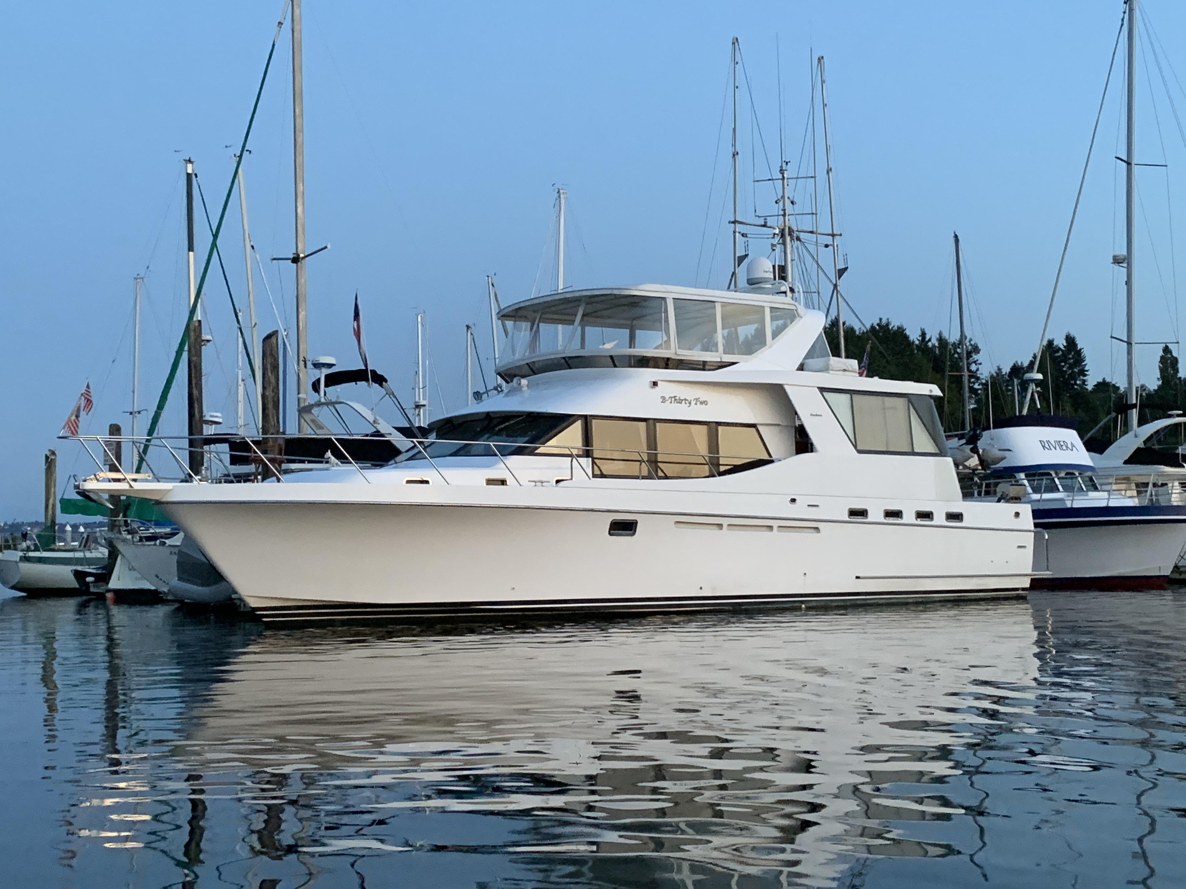 1998 Ocean Alexander 546 Yachtfisher