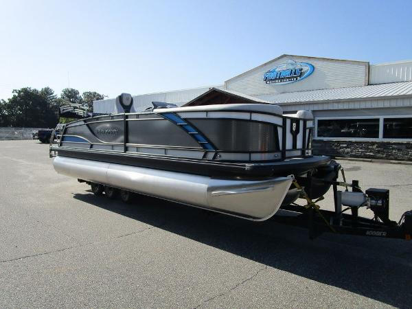 2021 Godfrey Pontoon boat for sale, model of the boat is Monaco 235 SFL GTP 27 in. & Image # 2 of 32